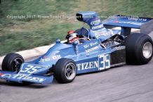 Maki F101C F1 photo. Tony Trimmer 1975 German GP